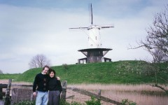 Bill and Marie in Holland