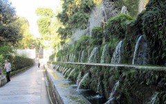 Italy - Fountains of Villa d'Este